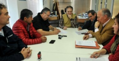 El gremio y los representantes de Hidroeléctrica Futaleufú firmaron el convenio