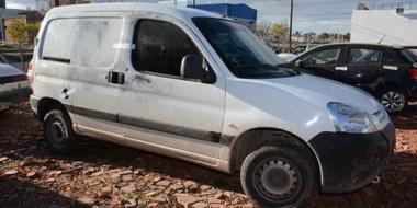 Esta es la camioneta que usó la banda delictiva para transportar la caja de seguridad. Apareció en el Amaya.
