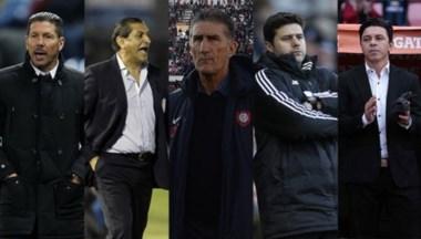 Simeone, Ramón Díaz, Bauza, Pochettino y Gallardo son algunos de los candidatos a dirigir la Selección.