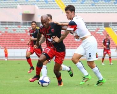 El equipo de Diego Aguirre empató sin goles con el elenco tico y luego no pudo en la tanda de penales.