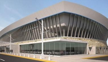 Un bosquejo de lo que será el nuevo aeropuerto de Comodoro.