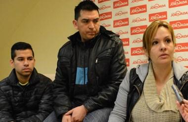 Otra versión. Desde la izquierda, Cayumán, Azocar y Herrera cuestionaron la magnitud del procedimiento.