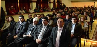 Los coordinadores de Cultura de la Municipalidad de Trelew junto con el intendente Adrián Maderna, expusieron sobre los 200 días de gestión.