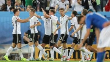 Alemania pasó a semifinales de la Eurocopa tras ganar por penales a Italia.