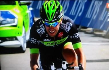 """""""Balito"""" tenía como objetivo llegar adelante en la etapa de Mont Blanc, no pudo ser por la rodada."""
