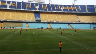 En el amistoso de suplentes, Boca le ganó a Danubio 3 a 0 (Palacios y Carrizo -2-).