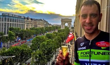 "El chubutense Eduardo ""Balito"" Sepúlveda completó el Tour de Francia."