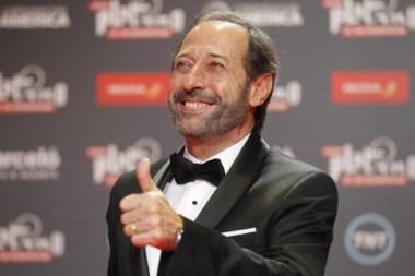 El premio Platino a Mejor Interpretación Masculina es para Guillermo Francella,