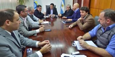 Postura regional. Durante el encuentro participaron representantes de Chubut, Santa Cruz y Río Negro.