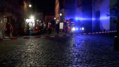 Un emigrante sirio explosiona una bomba en un local de Alemania y causa 12 heridos.