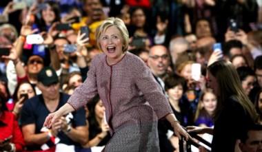 Hillary Clinton hace historia y se convierte en candidata presidencial en EE.UU.