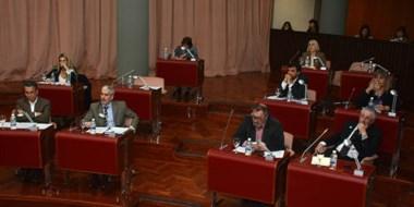 La vuelta. Los diputados sesionaron en la Legislatura tras el receso invernal de las últimas dos semanas.