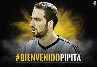 Higuaín es el tercer fichaje más caro de la historia. Juventus pagó 90 mde al Nápoles.
