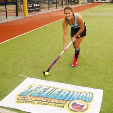 Julia Gomes Fantasia será la imagen del Telebingo y Chubut Deportes.
