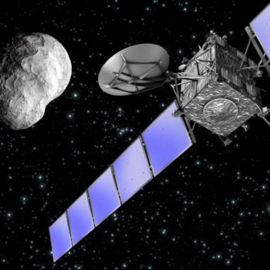 La misión culminará con un descenso sobre la superficie del cometa, el 67P Churyumov-Gerasimenko.