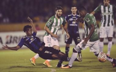 En la ida en Quito, Independiente del Valle y Atlético Nacional igualaron en un tanto.