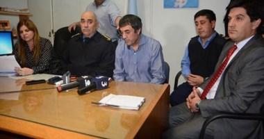 """""""Estamos absolutamente dispuestos para aportar lo que sea"""",  dijo Juan Luis Ale en conferencia de prensa."""