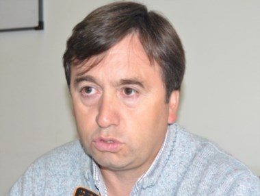 Néstor Cabezas, titular de la Cooperativa 16 de Octubre.