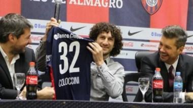 """Coloccini: """"Voy a ser uno de ustedes en la cancha. Tengo la ambición de ganar cosas""""."""