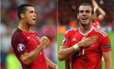 Cristiano Ronaldo y Gareth Bale cara a cara por un lugar en la final de la Eurocopa.