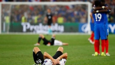 Francia mantuvo el arco en cero ante Alemania en un gran torneo por primera vez en 5 partidos.