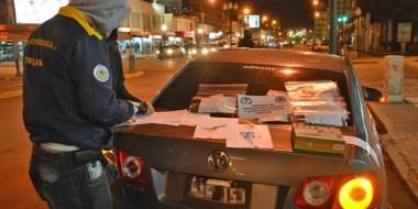 La División Drogas de Trelew  verificaba con reactivos químicos la pureza de la cocaína y la marihuana.
