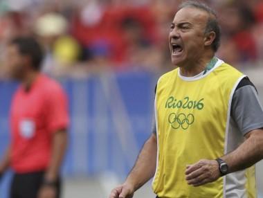 Olarticoechea apuntó contra los dirigentes tras la eliminación.