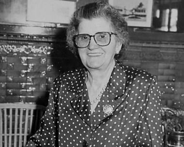 Otros tiempos. Doña Pepa llegó a Trelew hace 67 años.
