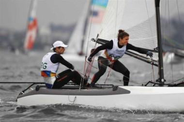 La dupla Lange-Carranza buscará una nueva medalla para Argentina.