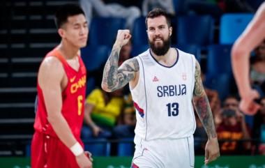 Serbia se clasifica a cuartos de final con facilidad, eliminando sin problemas a China. Al final: 94-60.