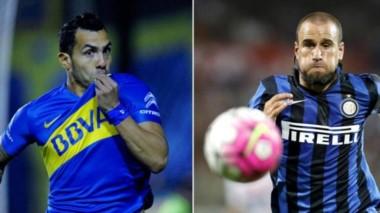 Kia Joorabchian planea el cambio Palacio-Tevez con Boca.