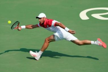 El tandilense no pudo con el bicampeón olímpico.