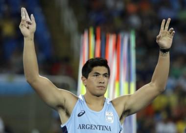 Braian Toledo participará de la final en lanzamiento de jabalina e irá por una medalla.