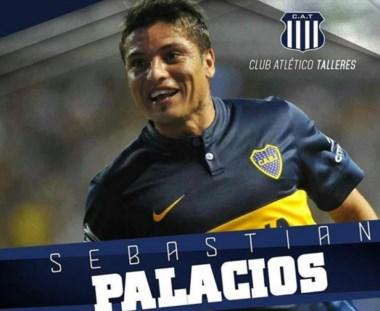Talleres compró el 50% del pase del tucumano Sebastián Palacios, delantero de Boca.