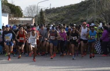 El momento de la largada, uno de los más emocionantes. 180 atletas participaron de la competencia.
