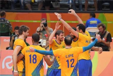 Brasil venció a Italia y cumplió el sueño de su tercera dorada (1996, 2004 y 2016).