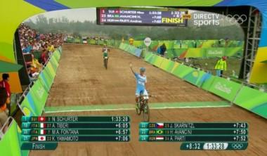 Final de la actuación argentina en Río. 25° puesto para el colonense Catriel Soto en mountain bike.