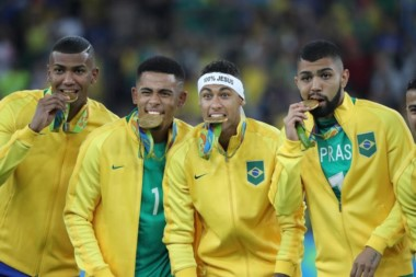 Brasil ganó su primer oro de la historia en el fútbol olímpico.