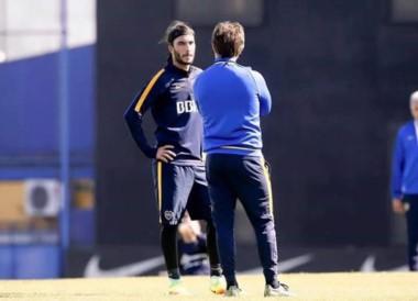 Sebastián Pérez ya entrena con el Boca Juniors.