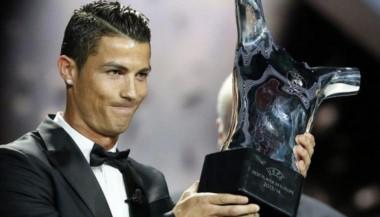 Cristiano Ronaldo volvió a ser elegido el mejor jugador de Europa.