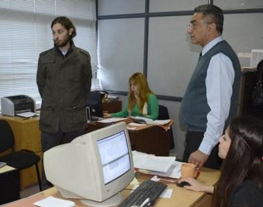 Aguilar elogió la tarea que se desarrolla en la oficina de Defensa del Consumidor de Trelew.
