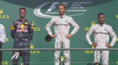 Nico Rosberg dominó de punta a punta y se quedó con el GP de Bélgica.