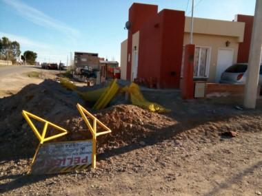 Un total de 65 familias del barrio Norte se verán beneficiadas.