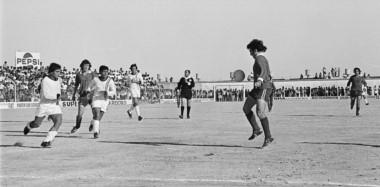 Jornada memorable. Última fecha del Nacional ´72 y frente a su par de Avellaneda. Fue 0 a 0. Ya habían pasado San Lorenzo, River, Atlanta y Lanús.