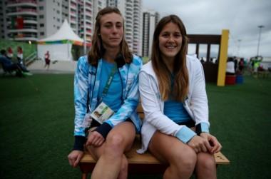 Agustina Habif (izquierda) y Julia Gomes Fantasia (derecha), están viviendo un momento soñado en Río.