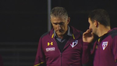 San Pablo perdió 2-1 ante Atlético Mineiro en la despedida de Bauza. Fue el debut de Buffarini.