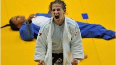 Paula Pareto (48 kgs.) venció a Ami Kondo (Japón) y es finalista. ¡Enorme, Peque!