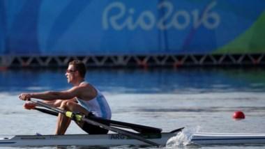 El remero de Mar del Plata Brian Rosso a cuartos en Río de Janeiro.