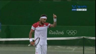 Pico tuvo un partido sencillo ante Basic, número 154 del mundo en el ranking ATP.