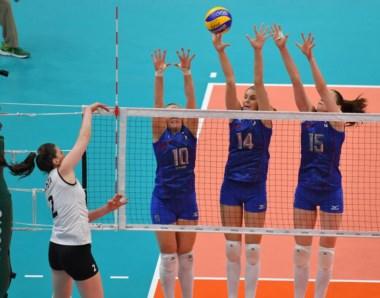 Rusia hizo pesar su experiencia y poderío para conseguir una victoria sencilla ante las argentinas.